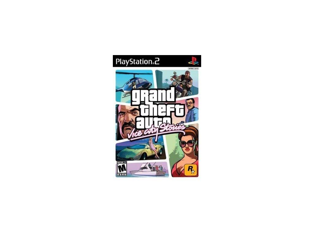 PS2 GTA Vice City Stories