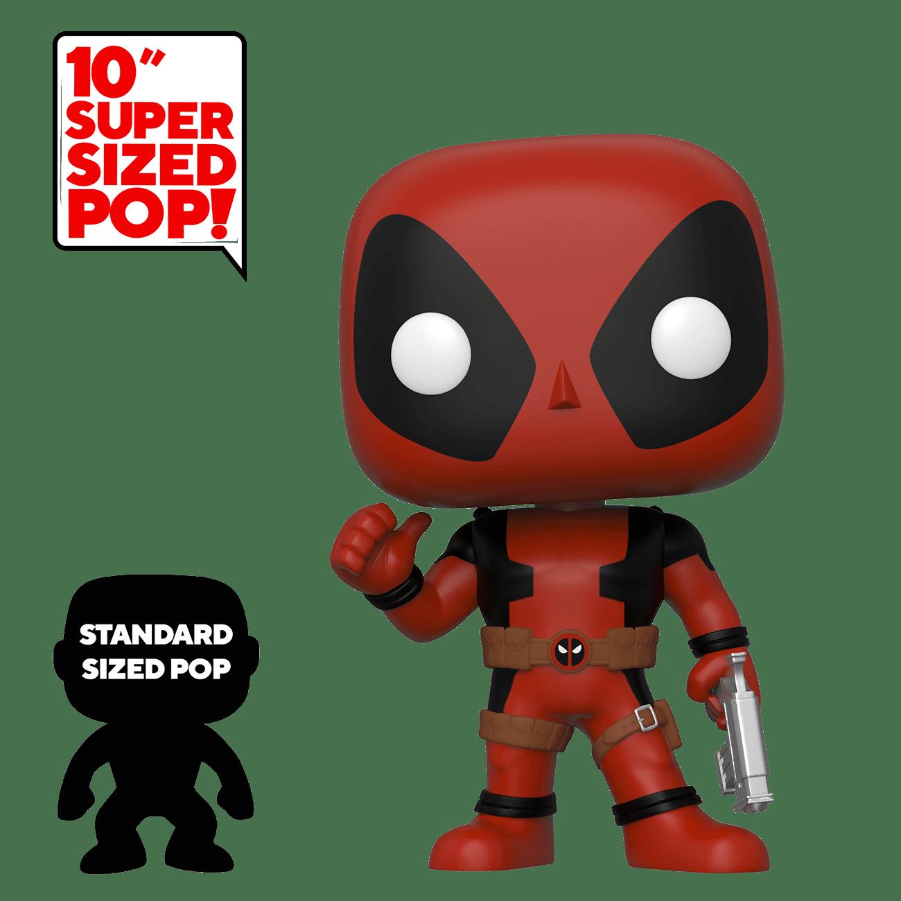 Funko POP! Marvel: Deadpool - Deadpool: Thumb up - 10 inch (nová)