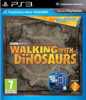 PS3 Move Wonderbook - Hra Walking With Dinosaurs (CZ) + Kniha