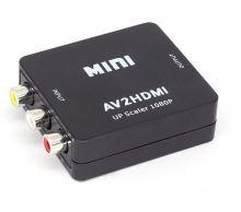 AV to HDMI převodník/konvertor signálu HDMI - černý