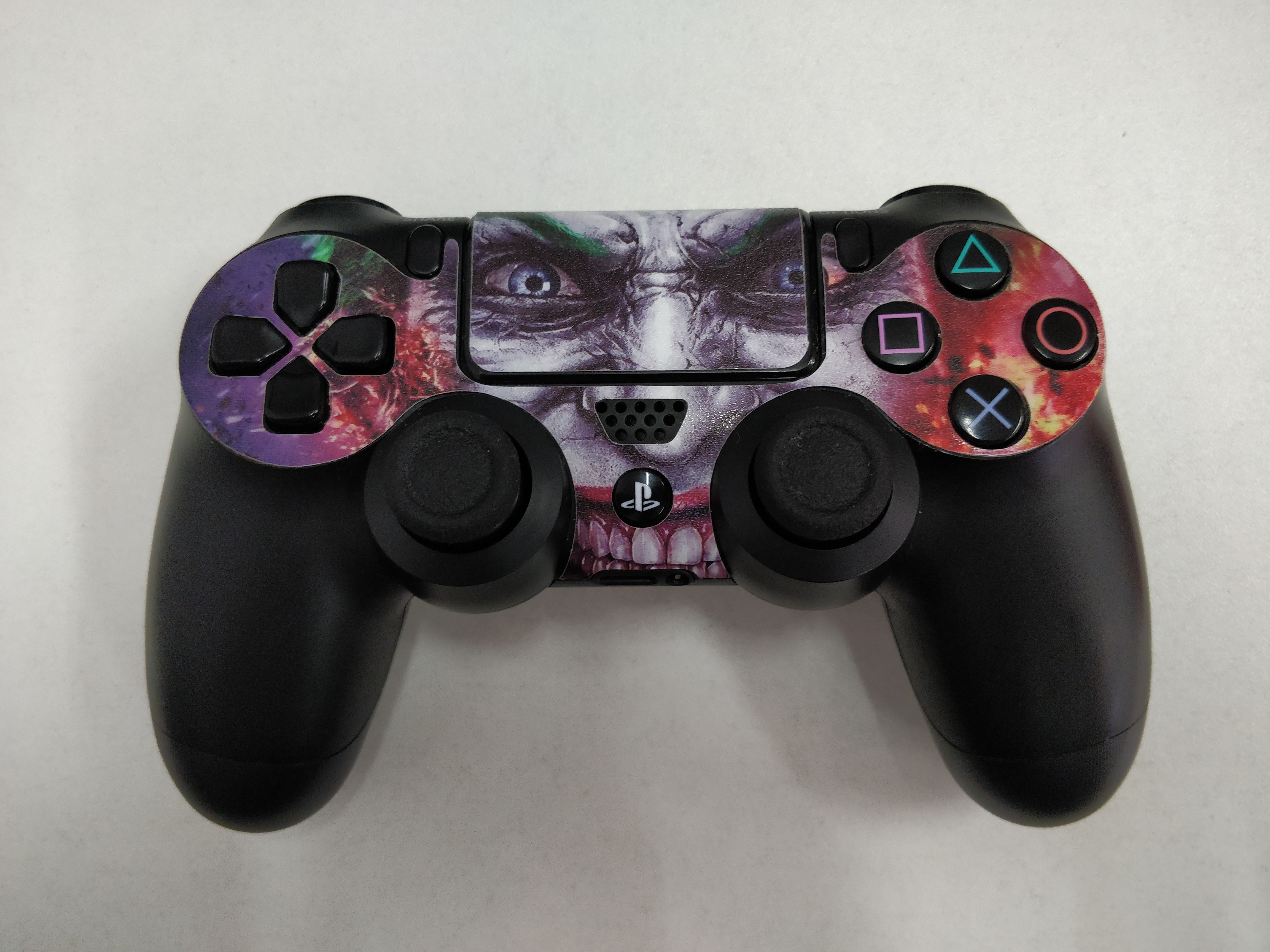 [PS4] Dualshock Sony Ovladač Custom Joker - černý