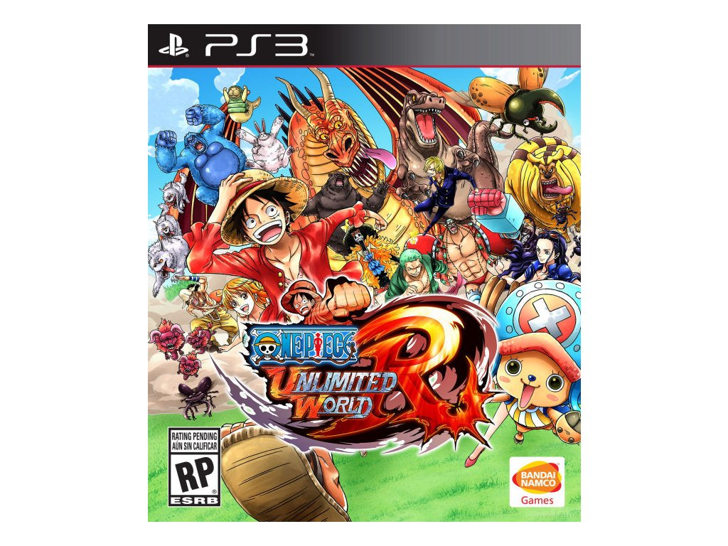 PS3 One Piece Unlimited World Red (DE)