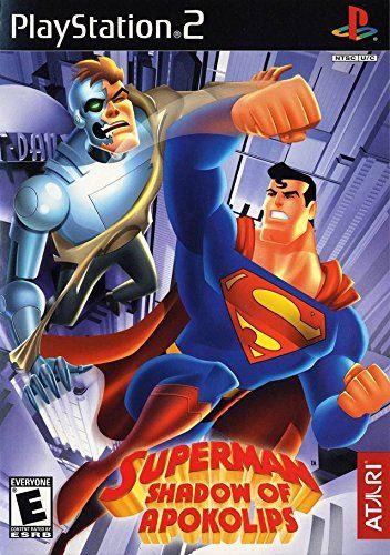PS2 Superman : Shadow Of Apokolips