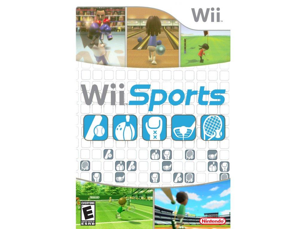 Nintendo Wii - Wii Sports (Bez obalu)