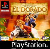 PSX PS1 Gold and Glory: The Road to El Dorado