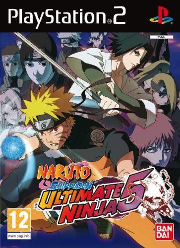 PS2 Naruto Ultimate Ninja 5