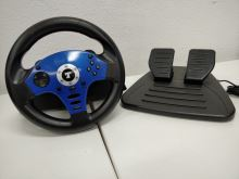 [PS2] Thrustmaster T-Blue Megapack (volant s pedály) (estetická vada)