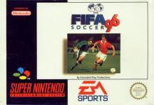 Nintendo SNES FIFA Soccer 96