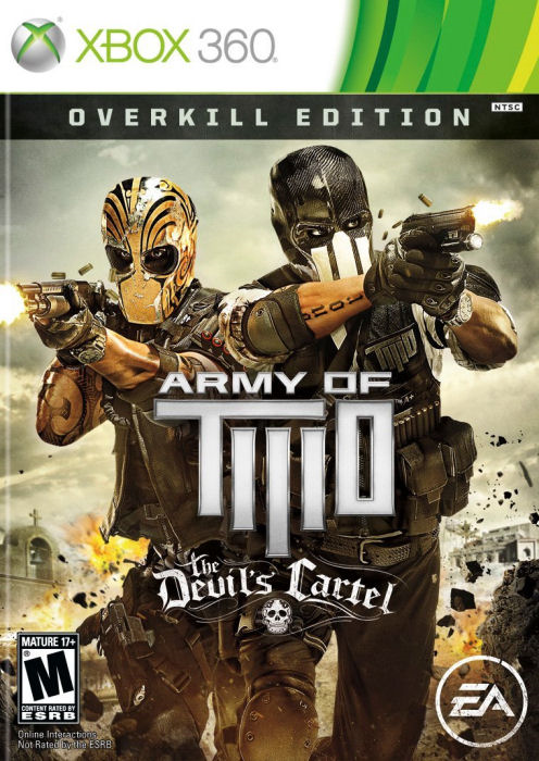 Xbox 360 Army Of Two The Devils Cartel