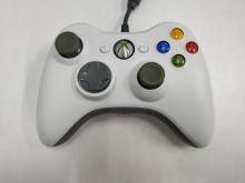 [Xbox 360] Drátový Ovladač Microsoft - bílý (nažloutlé páčky) (estetická vada)