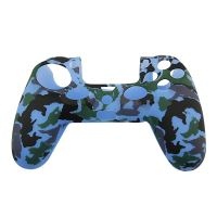[PS4| Protiskluzový Návlek Na Ovladač (modrý maskáč)