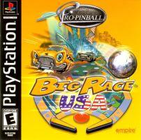 PSX PS1 Pro Pinball: Big Race USA