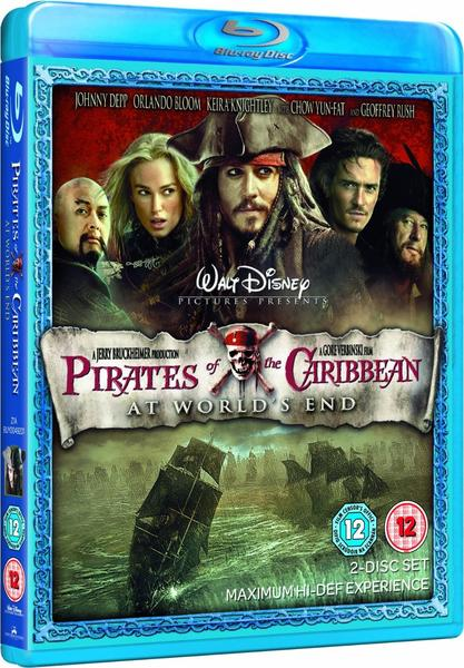 Blu-Ray Film Pirates of the Caribbean: At World's End
