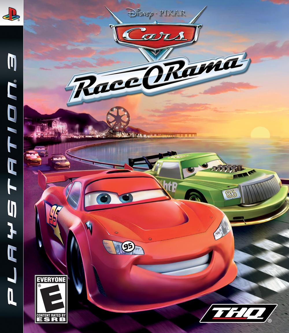 PS3 Auta, Cars Race O Rama
