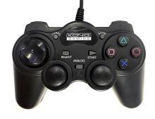 [PS2] Drátový Ovladač Konig Gaming - černý (estetická vada)