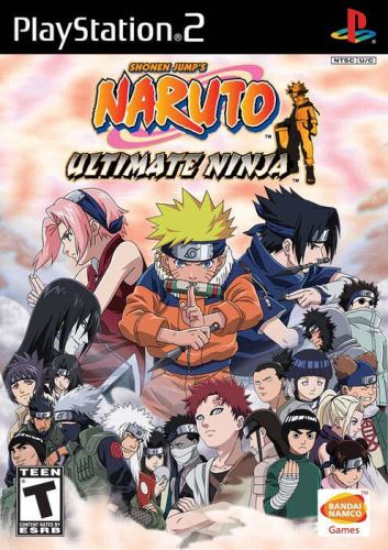 PS2 Naruto Ultimate Ninja