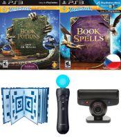 PS3 Move Wonderbook (Různé varianty)