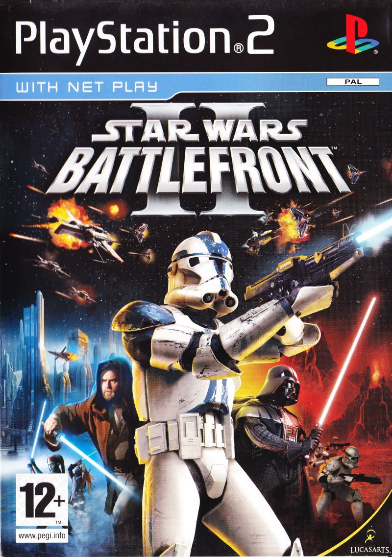 PS2 Star Wars: Battlefront 2