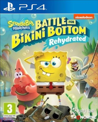 PS4 Spongebob SquarePants Battle for Bikini Bottom Rehydrated (nová)