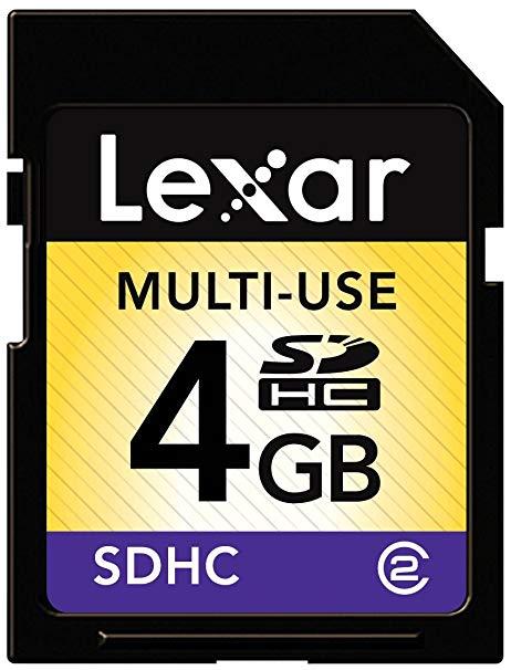 [Nintendo 3DS|2DS] Paměťová Karta Lexar SDHC 4GB Class 4
