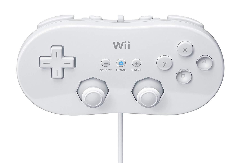 [Nintendo Wii] Ovladač Classic bílý