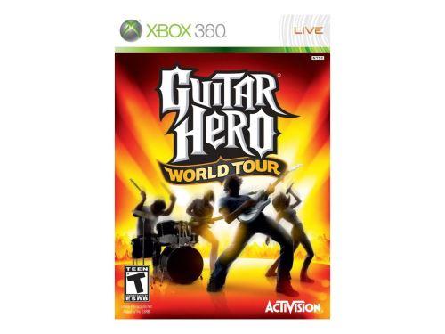 Xbox 360 Guitar Hero World Tour (pouze hra)