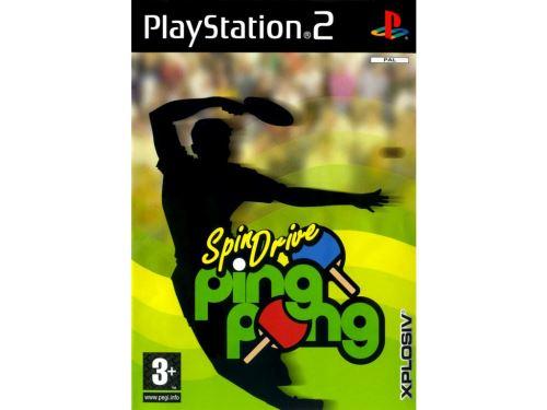 PS2 SpinDrive Ping Pong