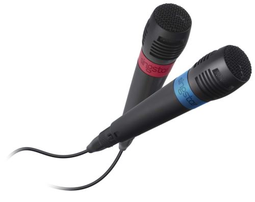[PS2 PS3 PS4] 2x Mikrofon Singstar Drátový