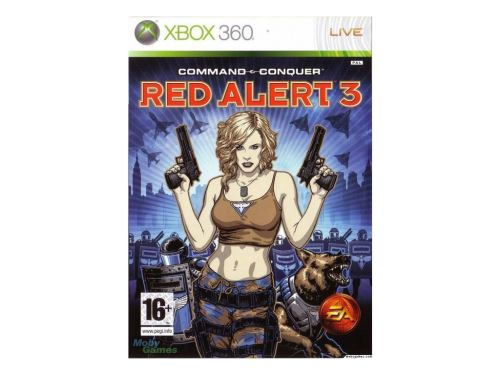Xbox 360 Command and Conquer Red Alert 3