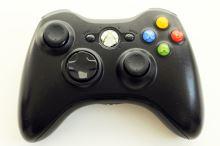[Xbox 360] Bezdrátový Ovladač Microsoft - černý (estetická vada)