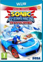 Nintendo Wii U Sonic And All Stars Racing Transformed Special Edition