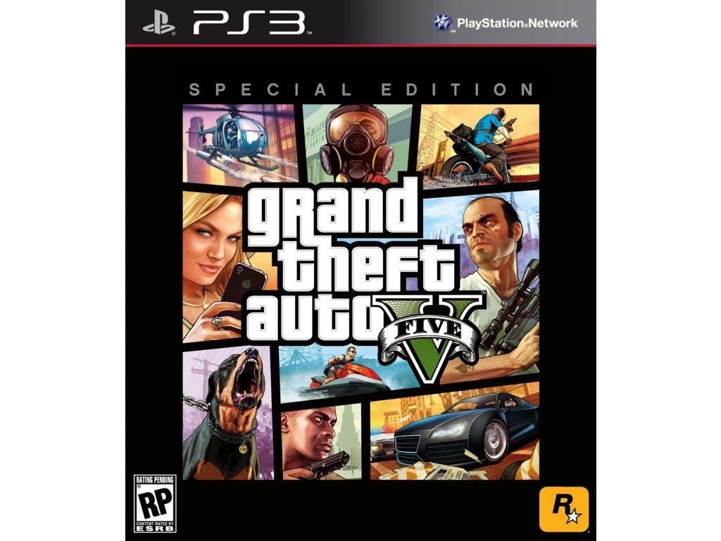 PS3 GTA V - Special Edition