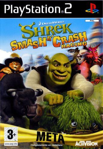 PS2 Shrek Smash n' Crash Racing