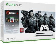 Xbox One S 1TB (Plná verze s DVD mechanikou) + Gears of War 5 (nové)