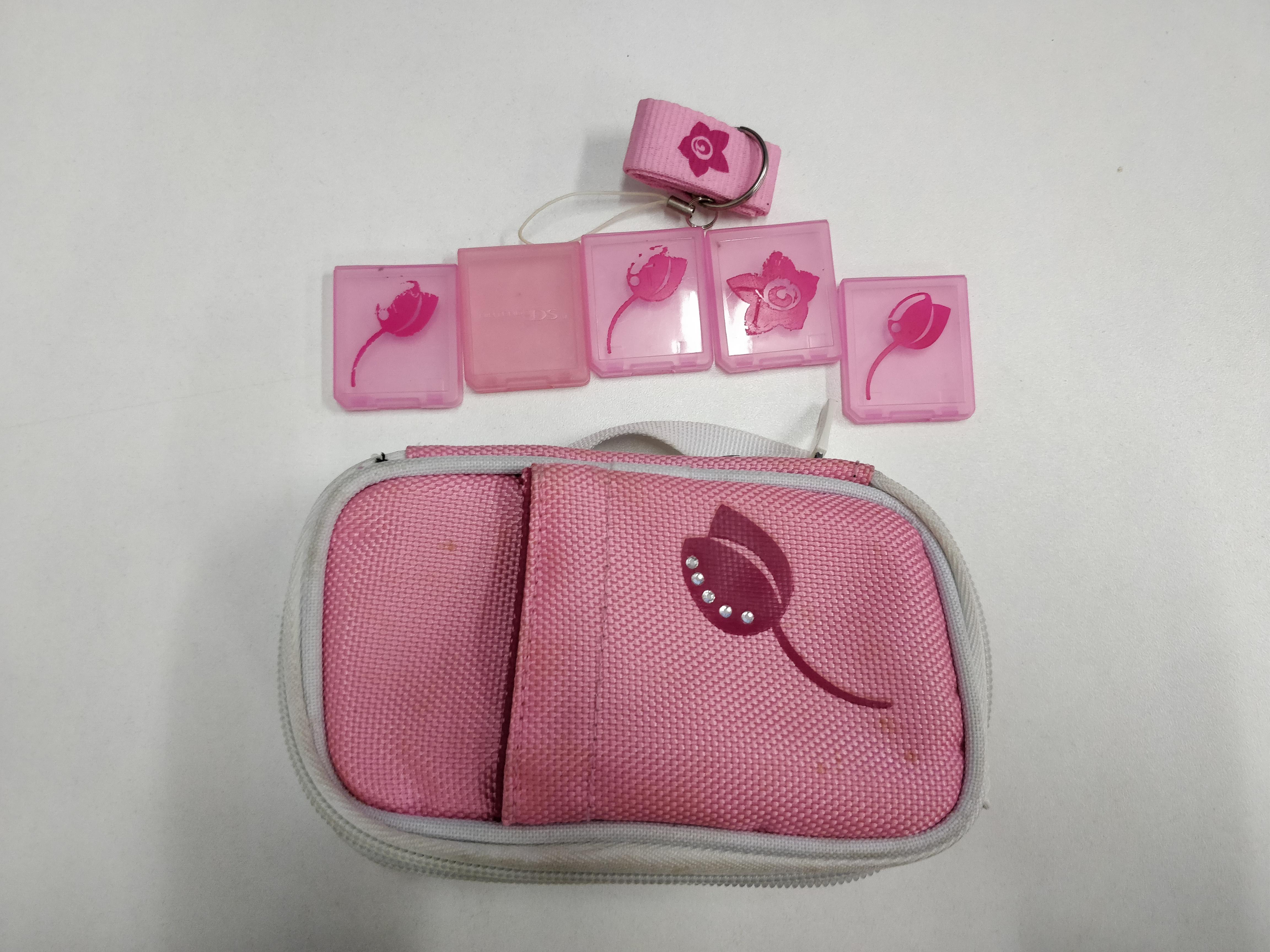 [Nintendo DS| DS Lite] Brašna Bigben - růžová (estetické vady)