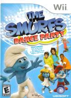 Nintendo Wii The Smurfs Dance Party