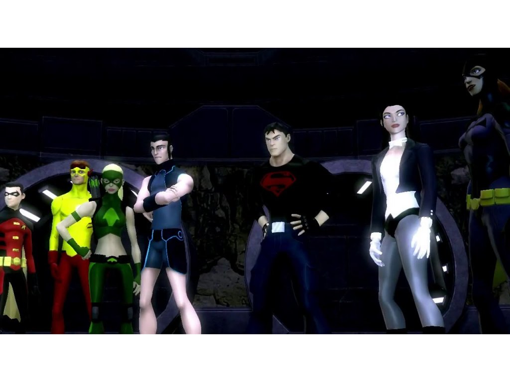Xbox 360 Young Justice Legacy