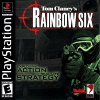 PSX PS1 Tom Clancys Rainbow Six
