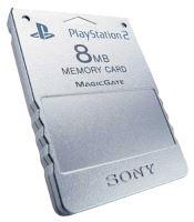 [PS2] Originální paměťová karta Sony 8MB (stříbrná)