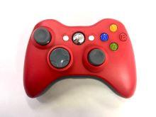 [Xbox 360] Bezdrátový Ovladač - červeno-bílý (estetická vada)