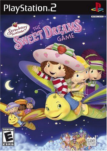 PS2 Strawberry Shortcake - The Sweet Dreams Game