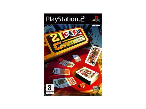 PS2 21 Card Games