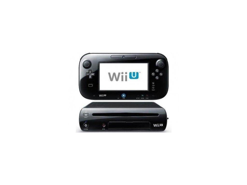 Nintendo Wii U 32GB - herní konzole - černá (estetická vada)
