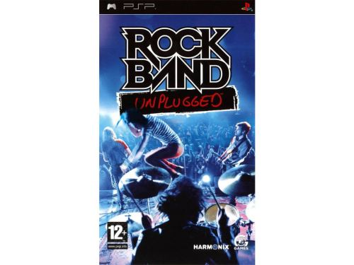 PSP Rock Band Unplugged