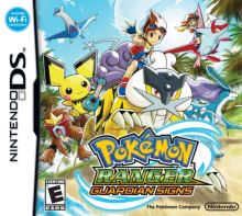 Nintendo DS Pokémon Ranger Guardian Signs