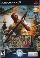 PS2 Medal Of Honor Rising Sun