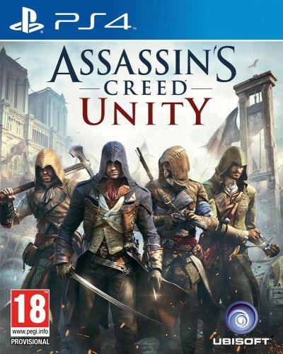 PS4 Assassins Creed Unity (CZ) (bez obalu)