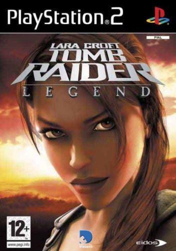 PS2 Lara Croft Tomb Raider Legend